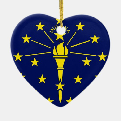 Indiana, United States Ornaments