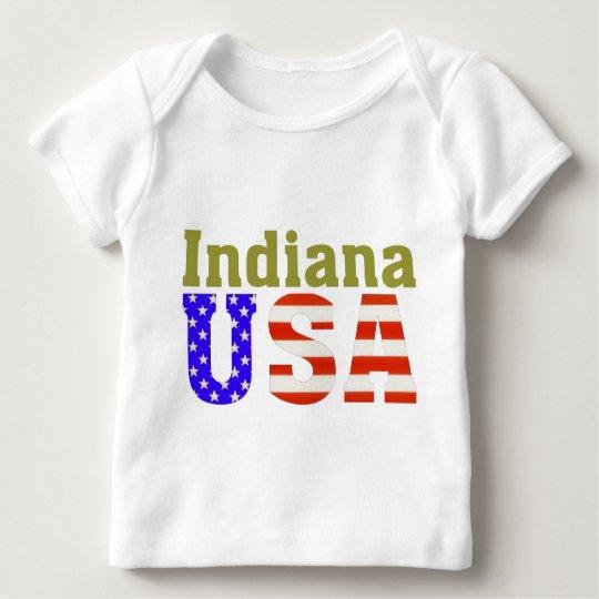 Indiana USA Aashen alpha Baby T-Shirt