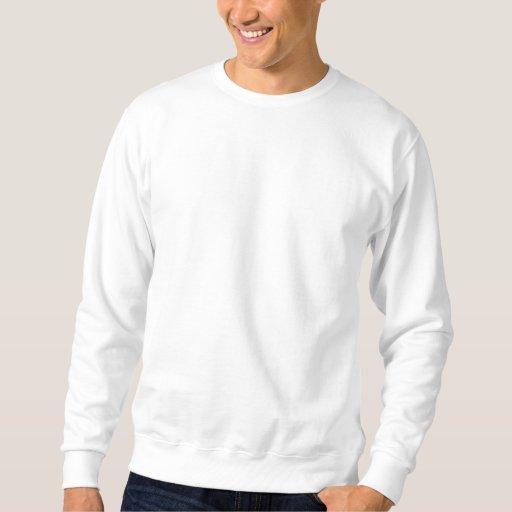 Indiana USA  Embroidered Basic White Sweatshirt