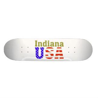 Indiana USA! Skateboard. Custom Skateboard