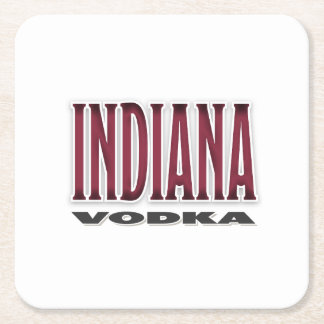 Indiana Vodka Drink Coasters