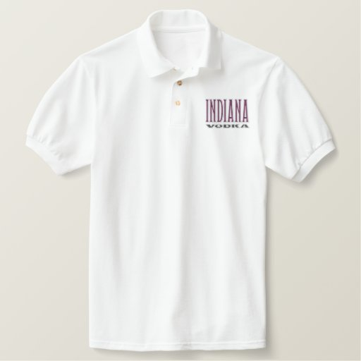 Indiana Vodka - Embroidered Polo