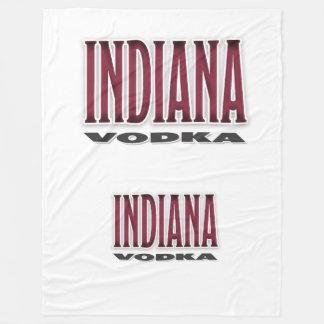 Indiana Vodka Fleece Blanket