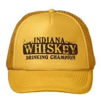 Indiana Whiskey Drinking Champion Mesh Hat