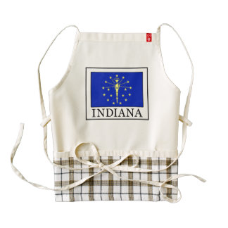 Indiana Zazzle HEART Apron