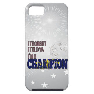 Indianan and a Champion iPhone 5 Cover