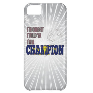 Indianan and a Champion iPhone 5C Cover