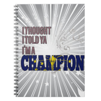 Indianan and a Champion Notebooks