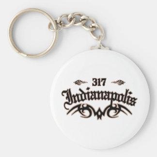 Indianapolis 317 keychain