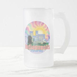 INDIANAPOLIS A Great City Indiana Mug