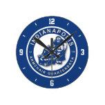 indianapolis Armchair Quarterback Wall Clock