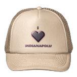 Indianapolis -- Azul con resplandor Gorros