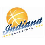 Indianapolis Basketball Postcard
