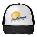 Indianapolis Basketball Trucker Hat