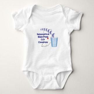 Indianapolis Beer Pon Champion Baby Bodysuit