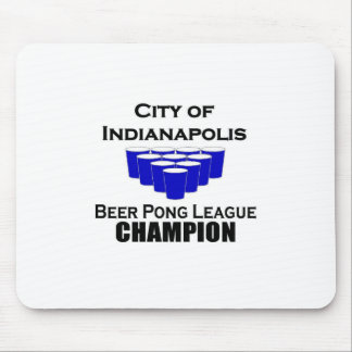 Indianapolis Beer Pong Champion Mouse Pad