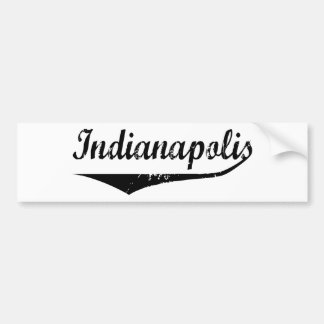 Indianapolis Bumper Sticker