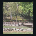 """Indianapolis Canal Walk and White River Park Bandana<br><div class=""""desc"""">Always something to see at the Indianapolis Canal Walk and White River State Park.</div>"""