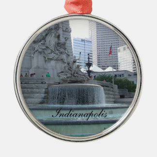 Indianapolis Christmas Ornament