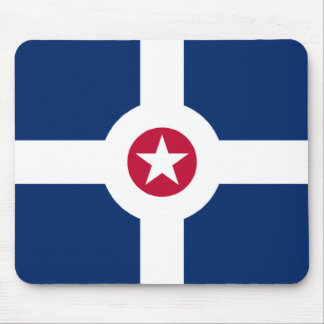 Indianapolis City Flag Mouse Pad