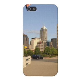 Indianapolis City Skyline Cover For iPhone SE/5/5s