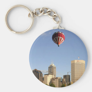 Indianapolis City Skyline Keychain
