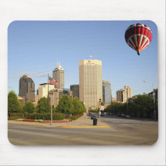 Indianapolis City Skyline Mouse Pad