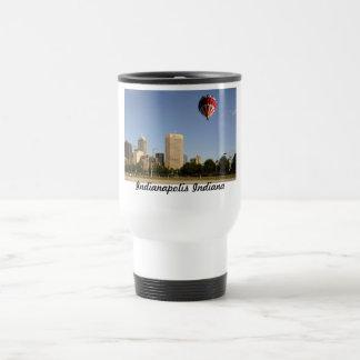 Indianapolis City Skyline Travel Mug
