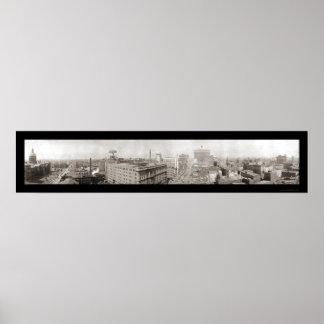 Indianapolis, EN la foto 1914 Póster