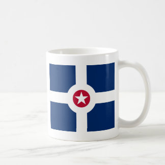 Indianapolis flag coffee mug