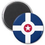 Indianapolis Flag Magnets