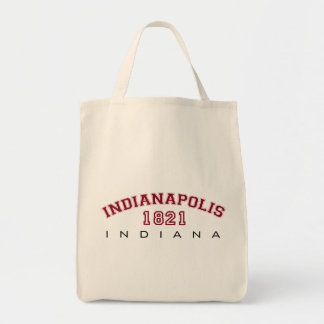 Indianapolis, IN - 1821 Tote Bag
