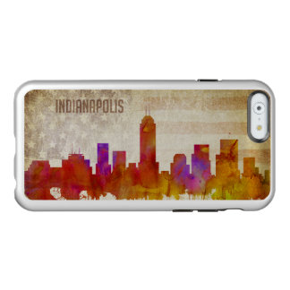 Indianapolis, IN | Watercolor City Skyline Incipio Feather Shine iPhone 6 Case