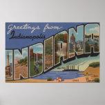Indianapolis, Indiana (acerías/dunas de arena) Poster