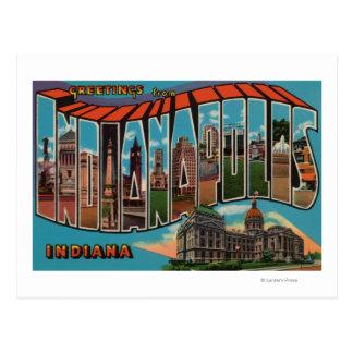 Indianapolis Indiana edificio capital Tarjetas Postales
