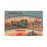 Indianapolis, Indiana - escenas grandes 2 de la Postales