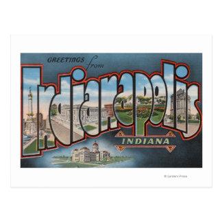 Indianapolis Indiana - escenas grandes 3 de la le Postales
