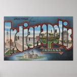 Indianapolis, Indiana - escenas grandes 4 de la le Impresiones