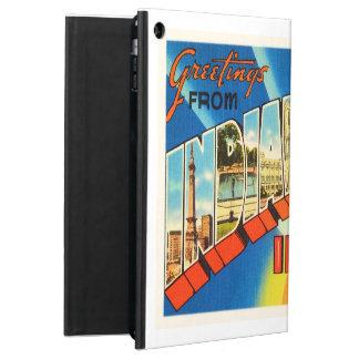 Indianapolis Indiana IN Vintage Travel Souvenir iPad Air Case
