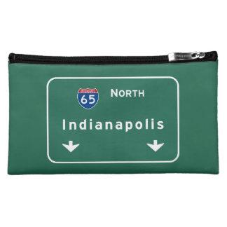 Indianapolis Indiana Interstate Highway Freeway : Makeup Bag