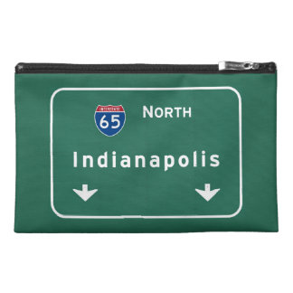 Indianapolis Indiana Interstate Highway Freeway : Travel Accessories Bag