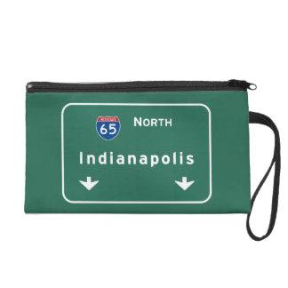 Indianapolis Indiana Interstate Highway Freeway : Wristlet