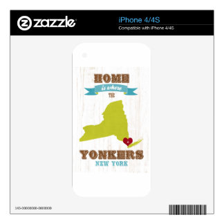 Indianapolis, Indiana Map – Home Is Where The Hear iPhone 4S Decals