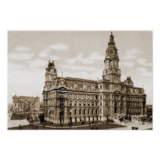 Indianapolis Indiana Old Marion County Courthouse Print