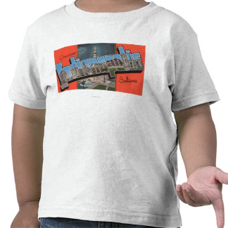 Indianapolis, Indiana (plaza de la ciudad) Camiseta