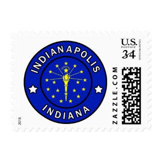 Indianapolis Indiana Postage