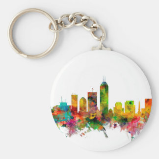 Indianapolis Indiana Skyline Keychain