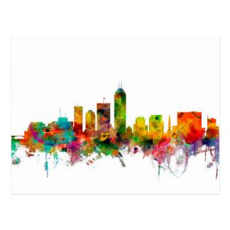 Indianapolis Indiana Skyline Postcard