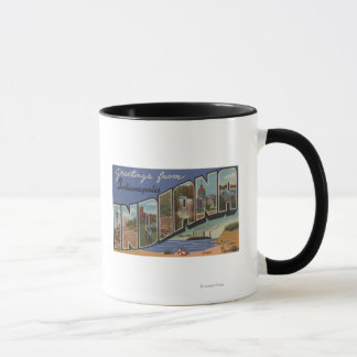 Indianapolis, Indiana (Steel Mills/Sand Dunes) Mug