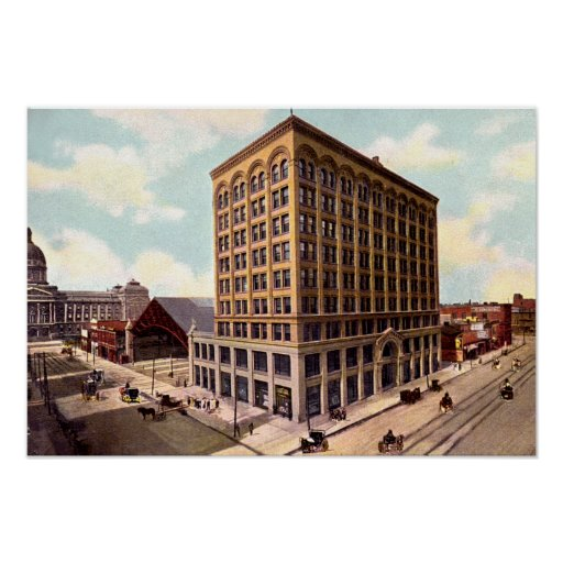 Indianapolis Indiana Terminal Traction Company Posters